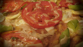 wheatless pizza