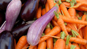 Carrots and Eggplants. CC photo by Flickr user jdickert