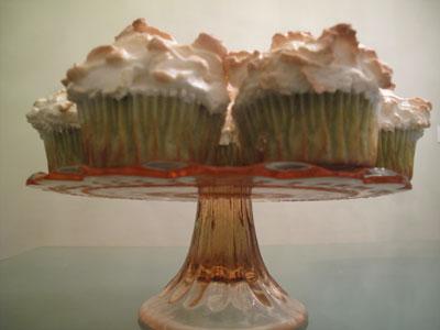 Matcha Meringue Cupcakes
