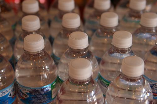 Water Bottles. CC photo via Flickr user quinnanya