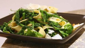 Pea Shoots and Pasta