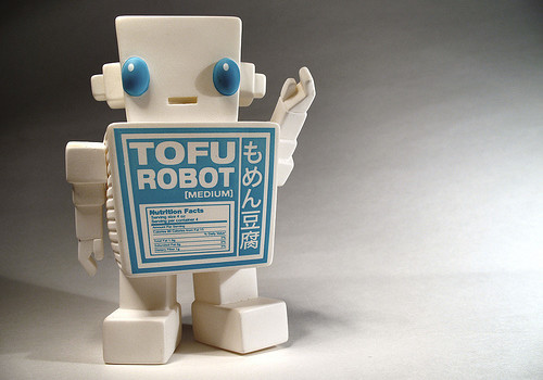 Tofu Robot. CC photo by Flickr user donsolo
