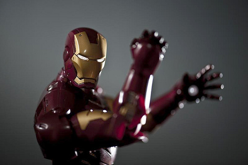 iron man. cc photo by flickr user icedsoul