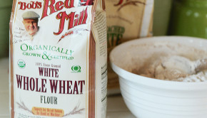 white whole wheat flour. cc photo by Flickr user cafemama