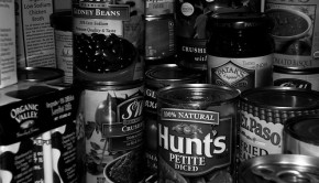 black and white cans. cc photo by flickr user slightlynorth