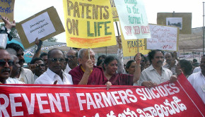 Indian Demonstration Against Monsanto. CC photo by Flickr user skasuga