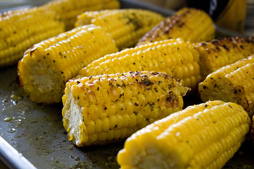 Grilled Corn with Chipotle Coconut Butter Recipe - Eat Drink Better