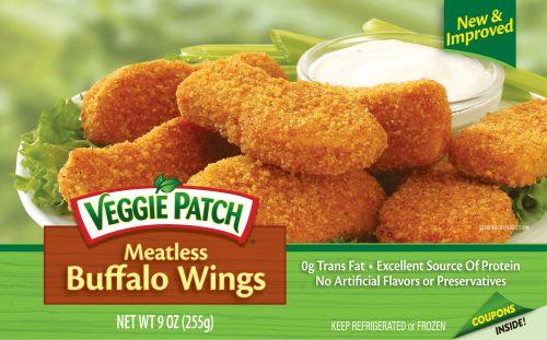 Veggie Patch Buffalo Wings