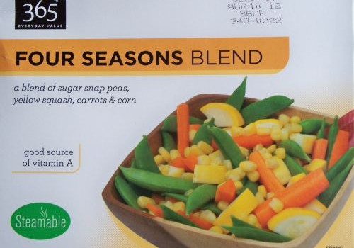 Whole Foods 365 Frozen Vegetable Blend