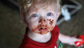 chocolate child