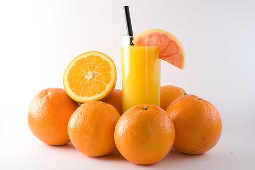 orange juice ingredients