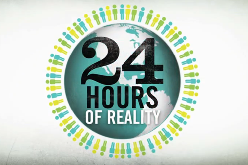 Climate Reality Live Stream
