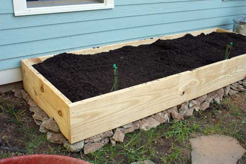 Building Raised Garden Bed On Slope