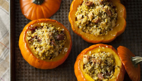 Big Vegan_Stuffed Squashes