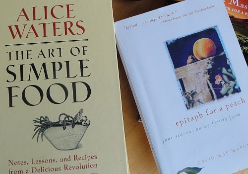Books by Alice Waters and David Mas Masumoto
