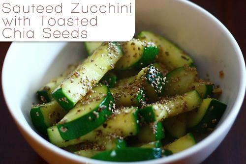Chia Seeds Zuchinni