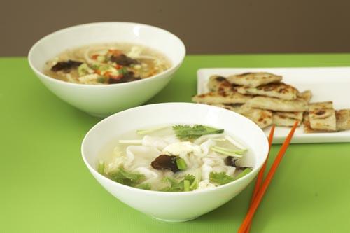 Healthier Noodle Soup: Soba Noodles