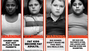 childhood obesity billboards
