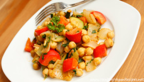 Red Pepper And Spicy Chickpea Recipe