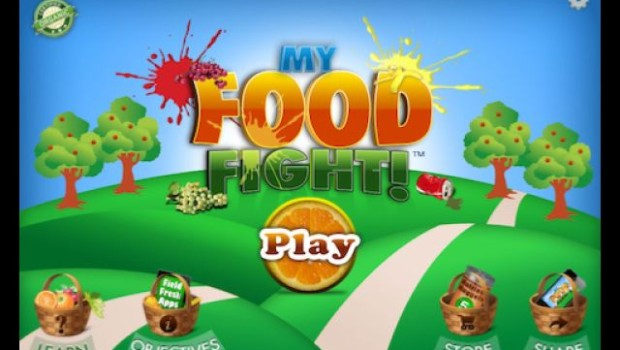 My Food Fight front page