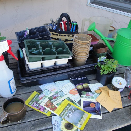 Basic seed sowing equipment