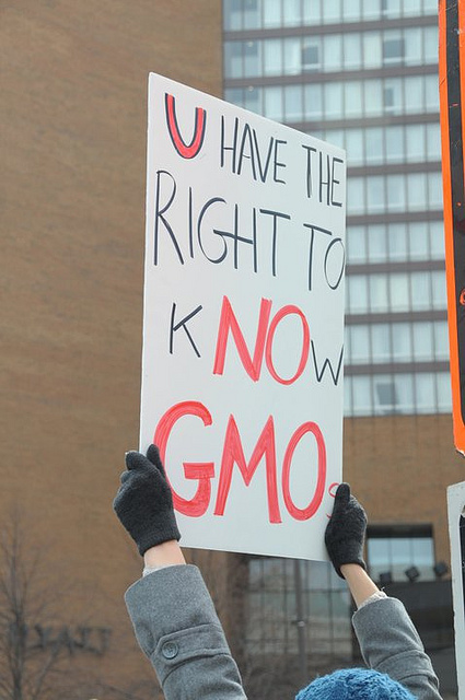 Right to Know GMO sign