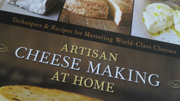 Artisan Cheesemaking At Home Book Cover