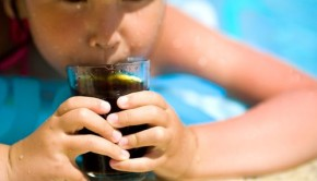 Child Drinking Soft Drink