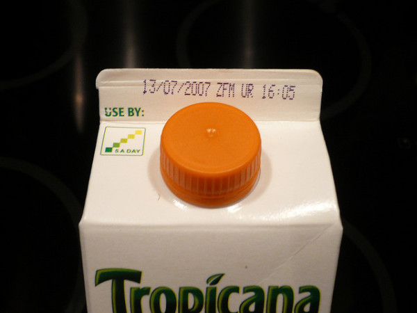 Resolve to Eat More Expired Food in the New Year!