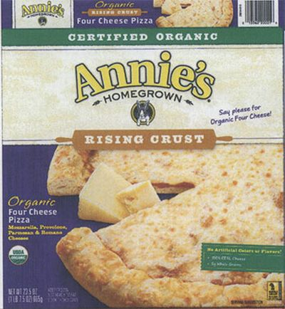 Annie's Rising Crust Frozen Pizza