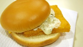 Fast Food Fish Sandwich