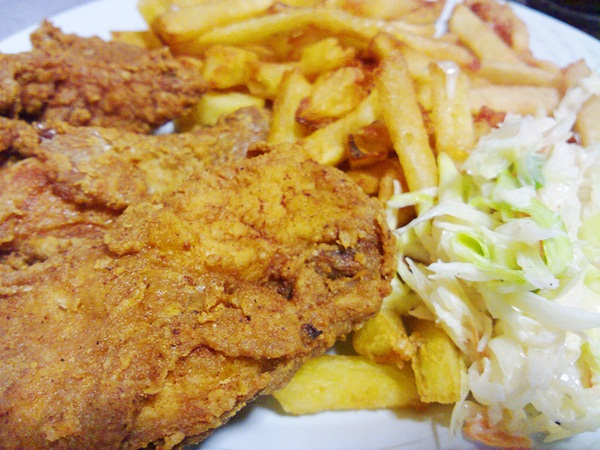 Southern Fried Stroke Food