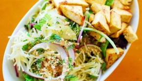 Noodle Salad with Grilled Tofu