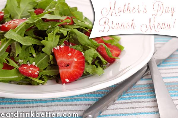 Vegan Mothers Day Brunch Menu