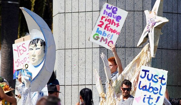 'Label GMO' Right-to-Know rally
