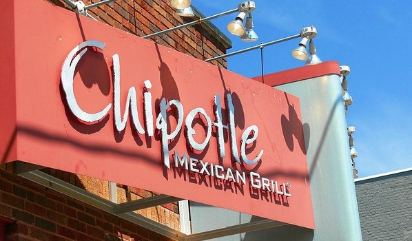 Chipotle's Mexican Grill sign