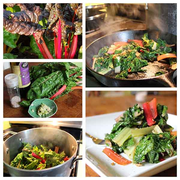 Farm Fresh Now: Swiss Chard of Many Colors (+ a recipe!) - Chard will always be there for you. Like a reliable friend, it is one of the greatest, and often least appreciated, of all the gifts from your local farmer.