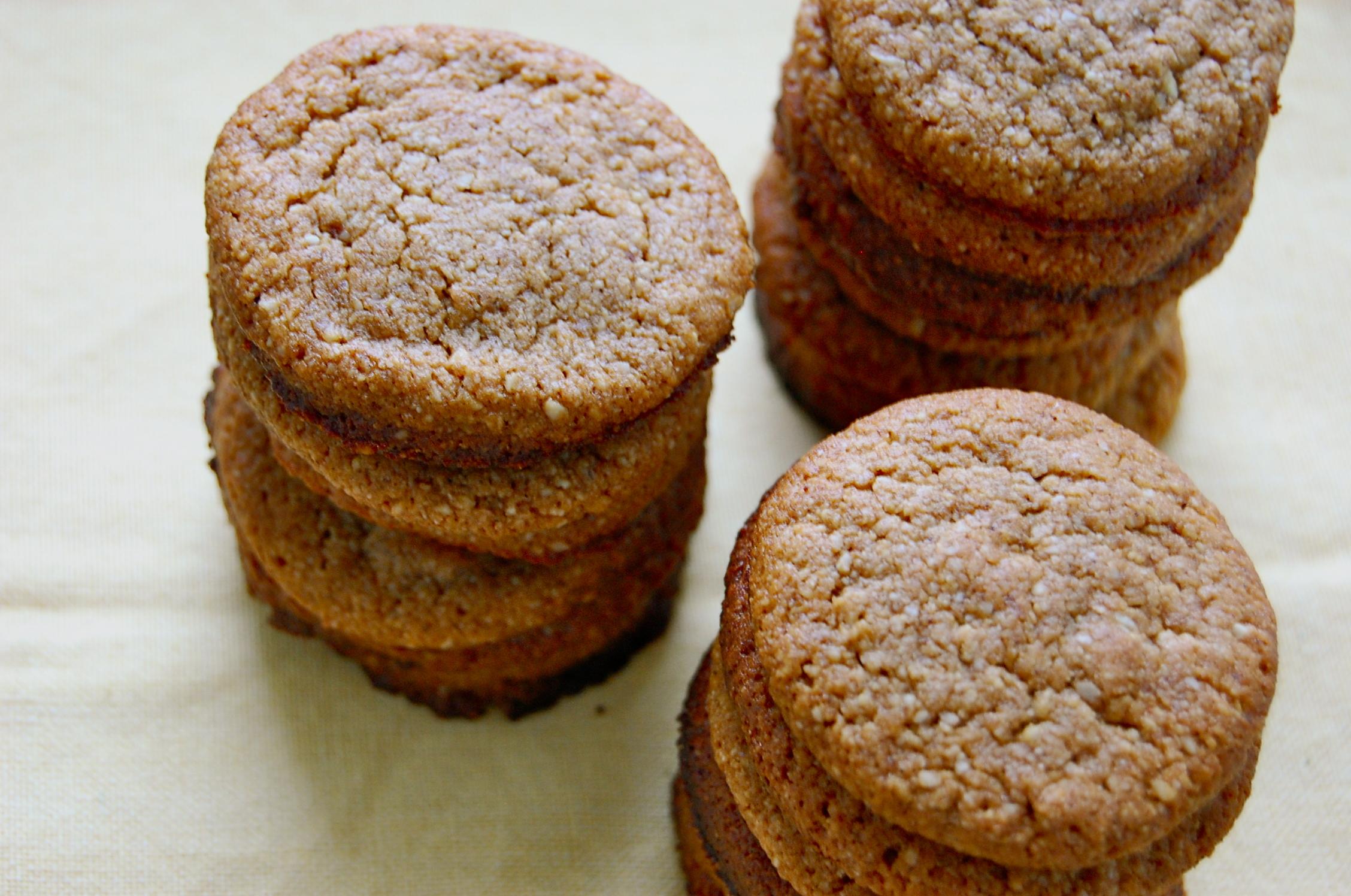 Almond cinnamon cookie recipe