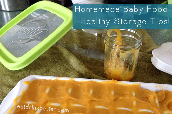 Cooking from Scratch: Baby Food