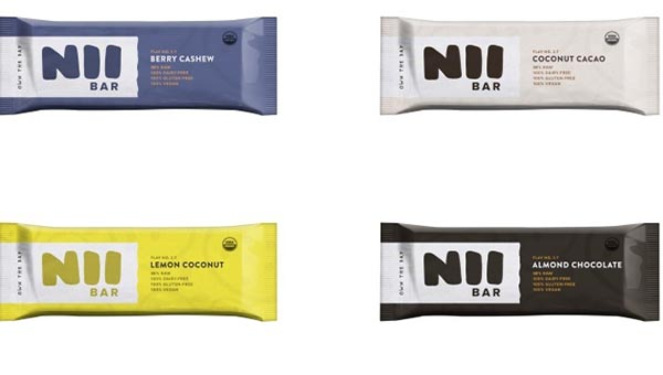 Organic food bars from nii bar for Organic food bar