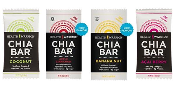 Healthy Snacks Chia Bars