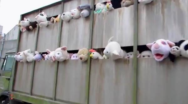 Banksy Sirens of the Lambs