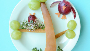How to Get Kids to Eat Vegetables: Try some food art!