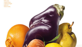 Patrice de Villiers Intermarche Ugly Vegetable Poster