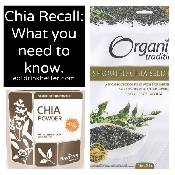Chia Recall: 50+ People Sick from Chia Powder