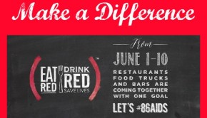Good Restaurants Eat Red Drink Red Save Lives