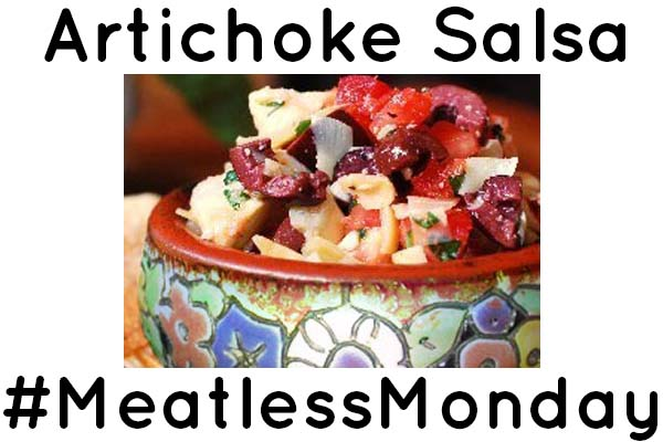 Try This Homemade Salsa with Artichokes and Olives for Meatless Monday