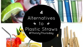 Thirsty Thursday: 4 Plastic-Free Straws for Sustainable Sipping