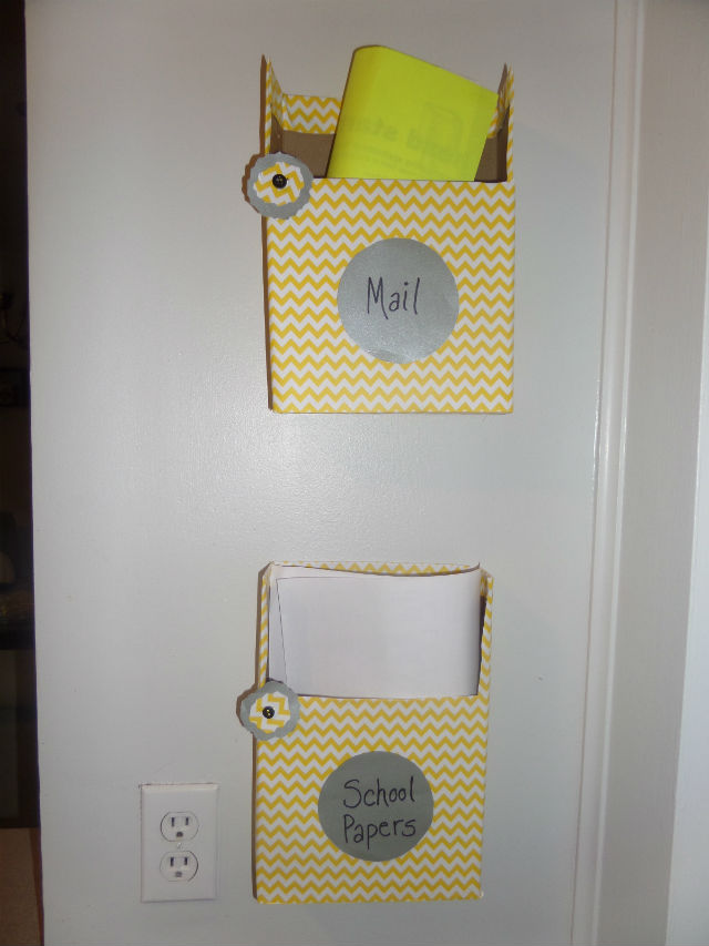 cereal-boxes-turned-into-hanging-wall-folders