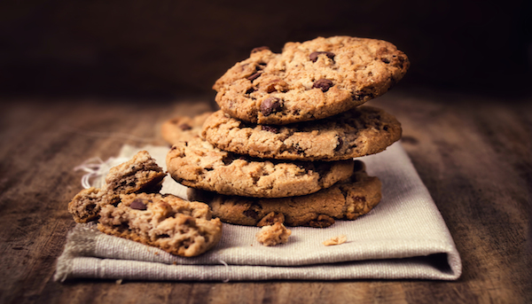Gluten-Free Vegan Cinnamon Almond Cookies Recipe with Chocolate Chips